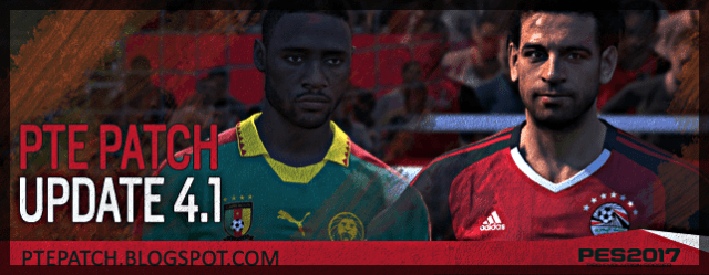 PTE Patch 4.1 (PES 2017) download and install on PC