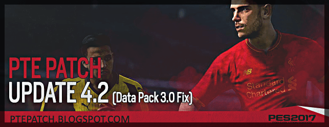 (PES 2017) PTE Patch 4.2 : Download + Install