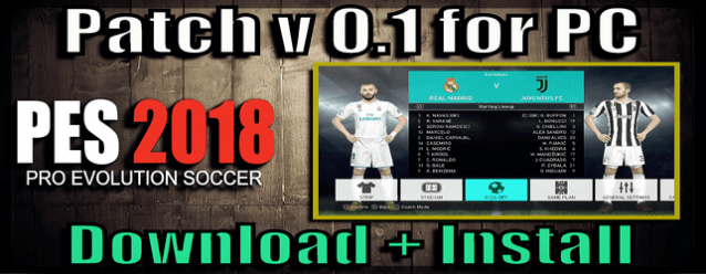Pes 18 patch for pes 17