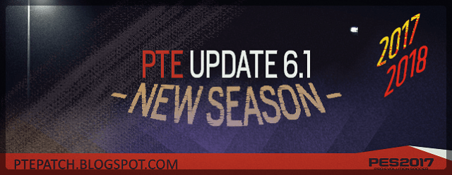 PTE Patch 6.1 PES 2017 install on PC and correct order of cpk files