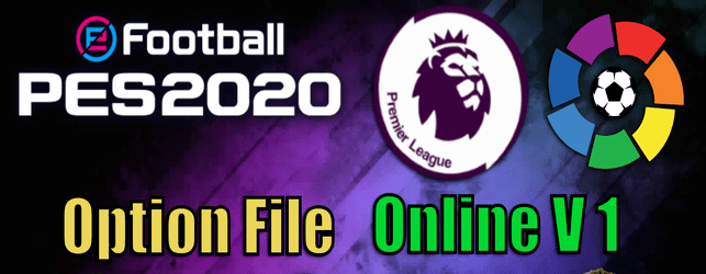 eFootball PES 2020 Online Option File V1 by CYPES download and install on PC and PS4