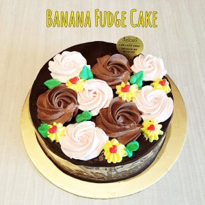 Banana Fudge Best Vegan Valentine's Cake