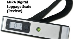 MIRA Digital Luggage Scale {Review}