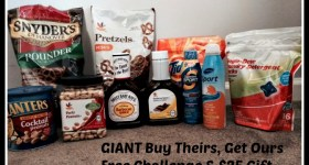 GIANT Food Stores Buy Theirs, Get Ours Free Challenge Is Back! and a $25 Gift Card Giveaway