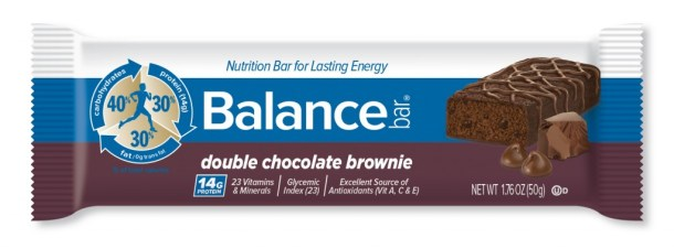 Balnace bars chocolate brownie