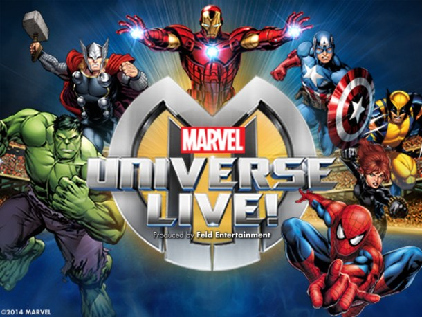 Big Marvel Universe live