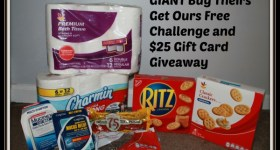 GIANT Buy Theirs, Get Ours Free Challenge 9/28 – 10/11 & $25 Gift Card Giveaway
