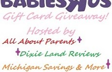 $140 Toys R Us &  $140 Babies R Us Gift Cards Giveaway