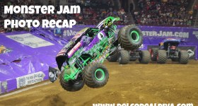 Family Night Out: Monster Jam Photo Recap #Monster Jam #Philadelphia