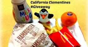 New McDonald's Fresh Fruit Happy Meal Option – Cuties California Clementines #Giveaway