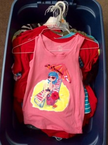 Clothes bin