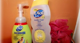 Dial Baby Body + Hair Wash and Foaming Kids Hand Wash {Review & Giveaway}