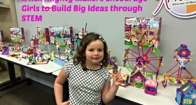 K'nex Mighty Makers Encourage Girls to Build Big Ideas through STEM