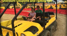 Diggerland 2015 – Featuring New ARGOs, Discount Coupons and Family Fun