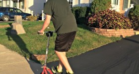Hot Holiday Gift Idea: Rockboard Original and Rockboard RBX Scooters {Review}