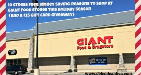 10 Stress Free, Money Saving Reasons To Shop at GIANT Food Stores This Holiday Season {and a $25 Gift Card Giveaway}