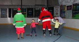 Skate with Santa at Marple Sports Arena 12/18/16