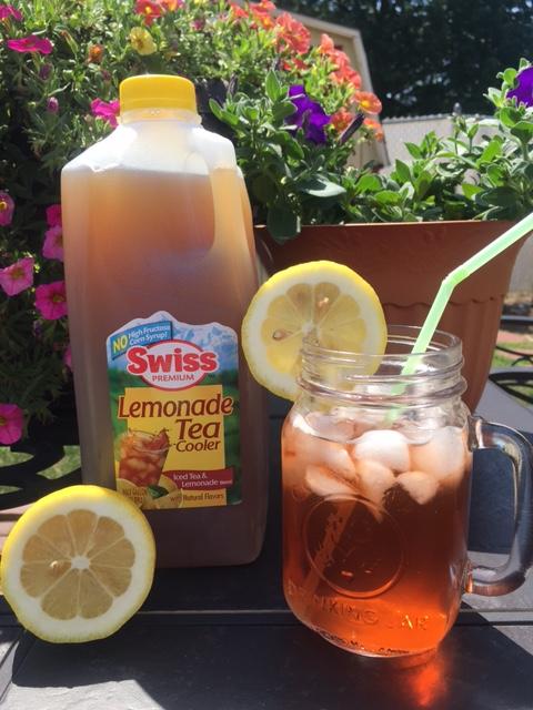 SWiss Lemonade Tea Cooler