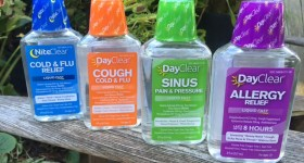 Battle Colds and Allergies with DayClear – a Gluten Free, Sugar Free, Dye Free, Alcohol Free and Acetaminophen Free Choice {and an Organic Gift Basket Giveaway}