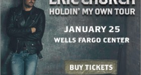 Eric Church Holdin' My Own Tour Coming to Wells Fargo Center in Philadelphia 1/25/17 {& a Ticket Giveaway)