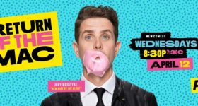 Philly Fans Were Abuzz as Joey McIntyre Was in Town to Promote His New Series Return of the Mac Debuting on PopTV