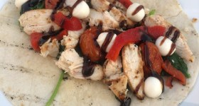 Herb & Garlic Chicken Caprese Wraps and Other Meals in Minutes Using Marinades
