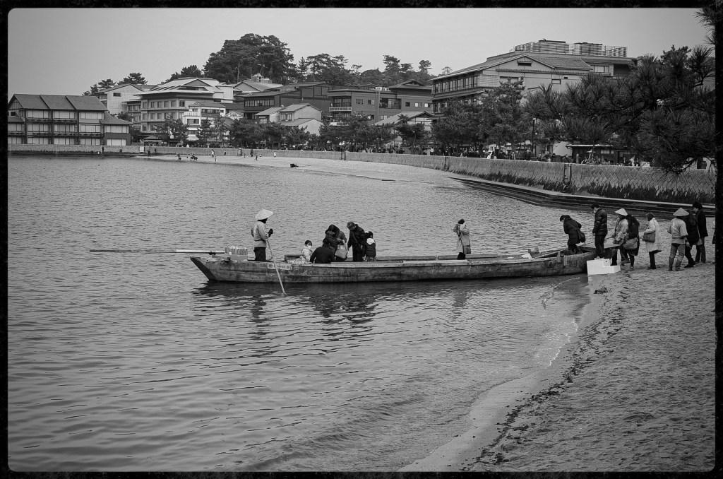 Boarding the boat on Miyajima Island - Nikon D7000 Nikkor AF-S 35mm 1.8G   Del Cook Photography