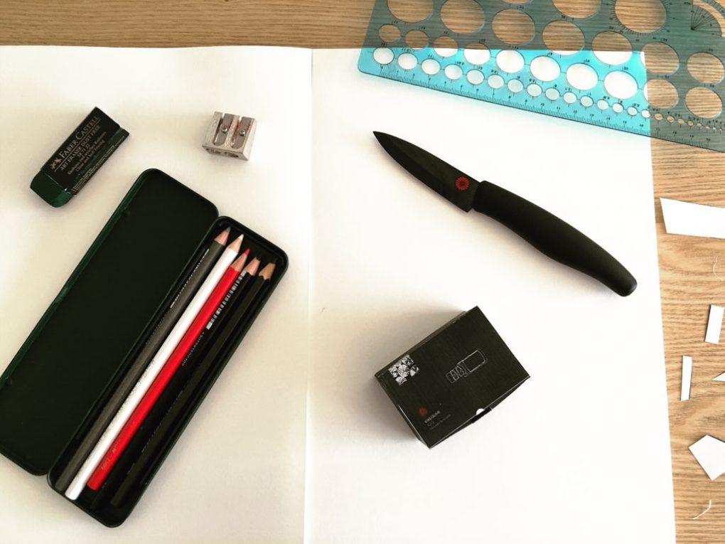 Assembling the Kikusumi KS-2 electric diamond knife sharpener packaging box