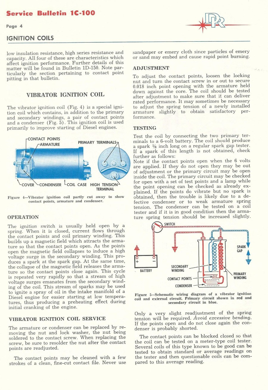 hight resolution of turbine igniter vibrating contact style 11
