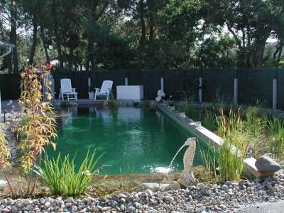 Piscine naturelle Bioteich à Andernos les bains