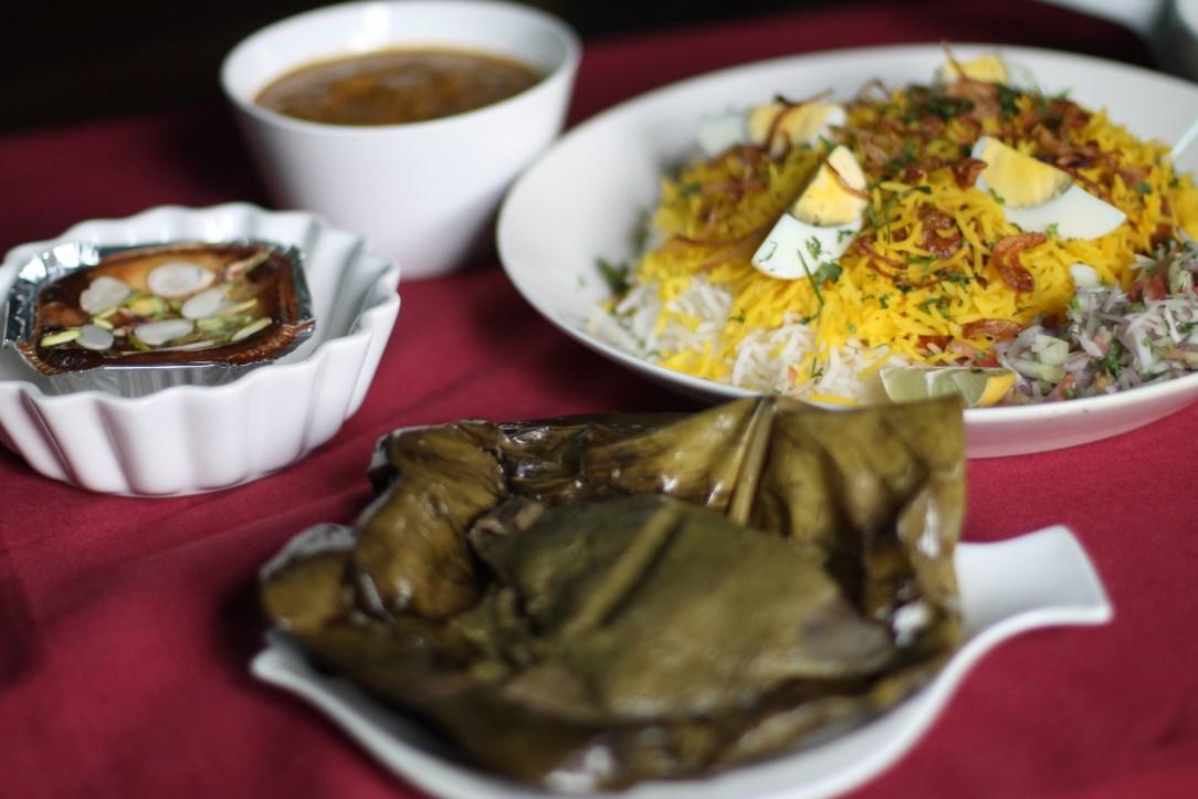 Parsi festive feast (vernika awal)