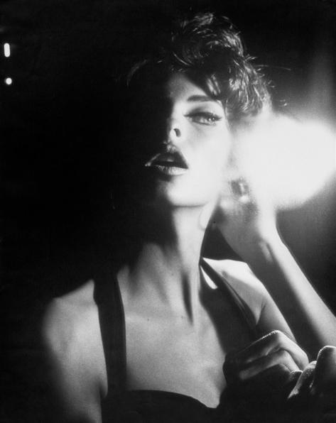 Linda Evangelista by Steven Meisel, Vogue Italia (June, 1990)