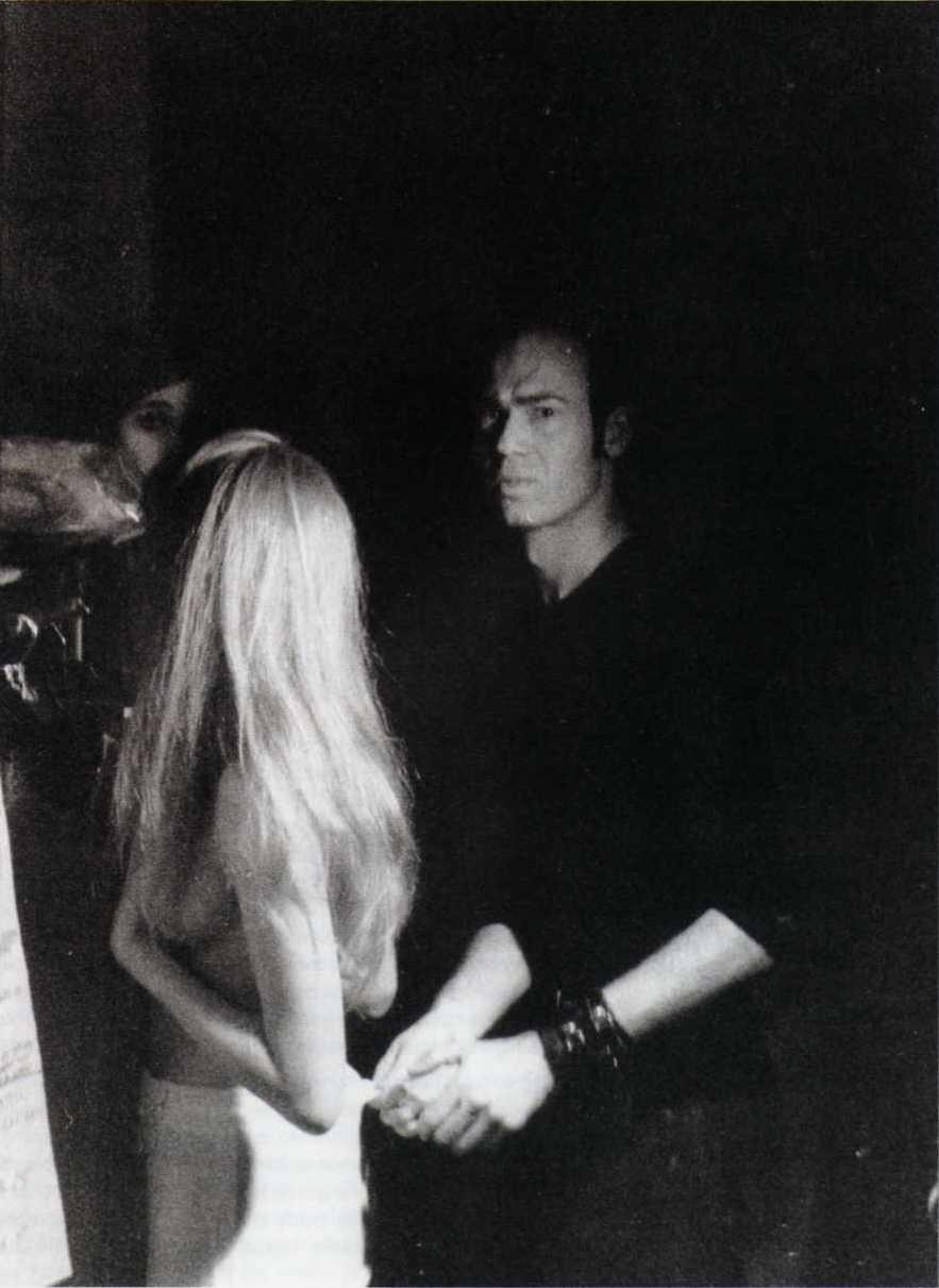 Martin Margiela backstage