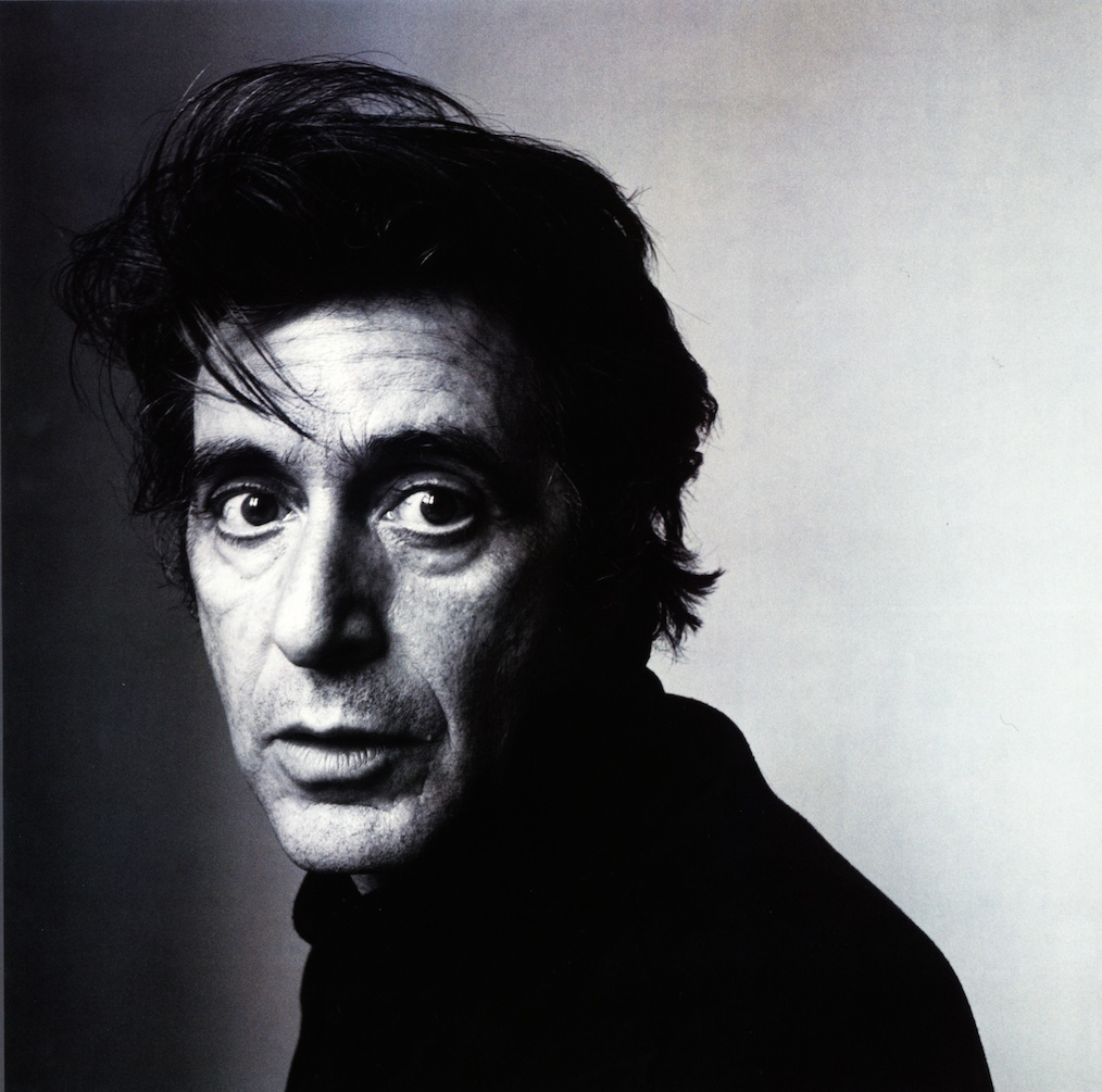 Al Pacino by Irving Penn, New York (1995)