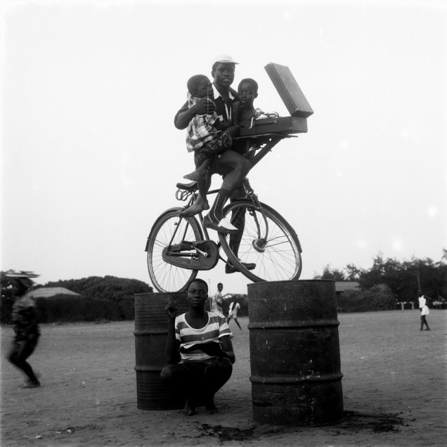 Nigerian Superman, Old Polo Ground, Accra (1957–58), James Barnor