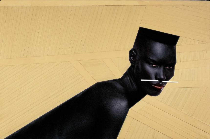 """""""Cry now, laugh later"""" New York (1982), Jean-Paul Goude"""
