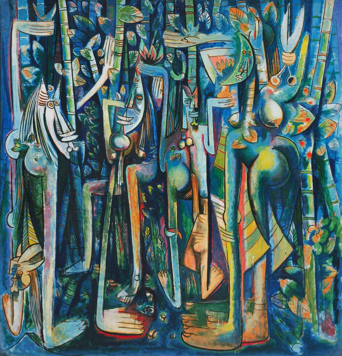 La Jungla (The Jungle 1943), Wifredo Lam