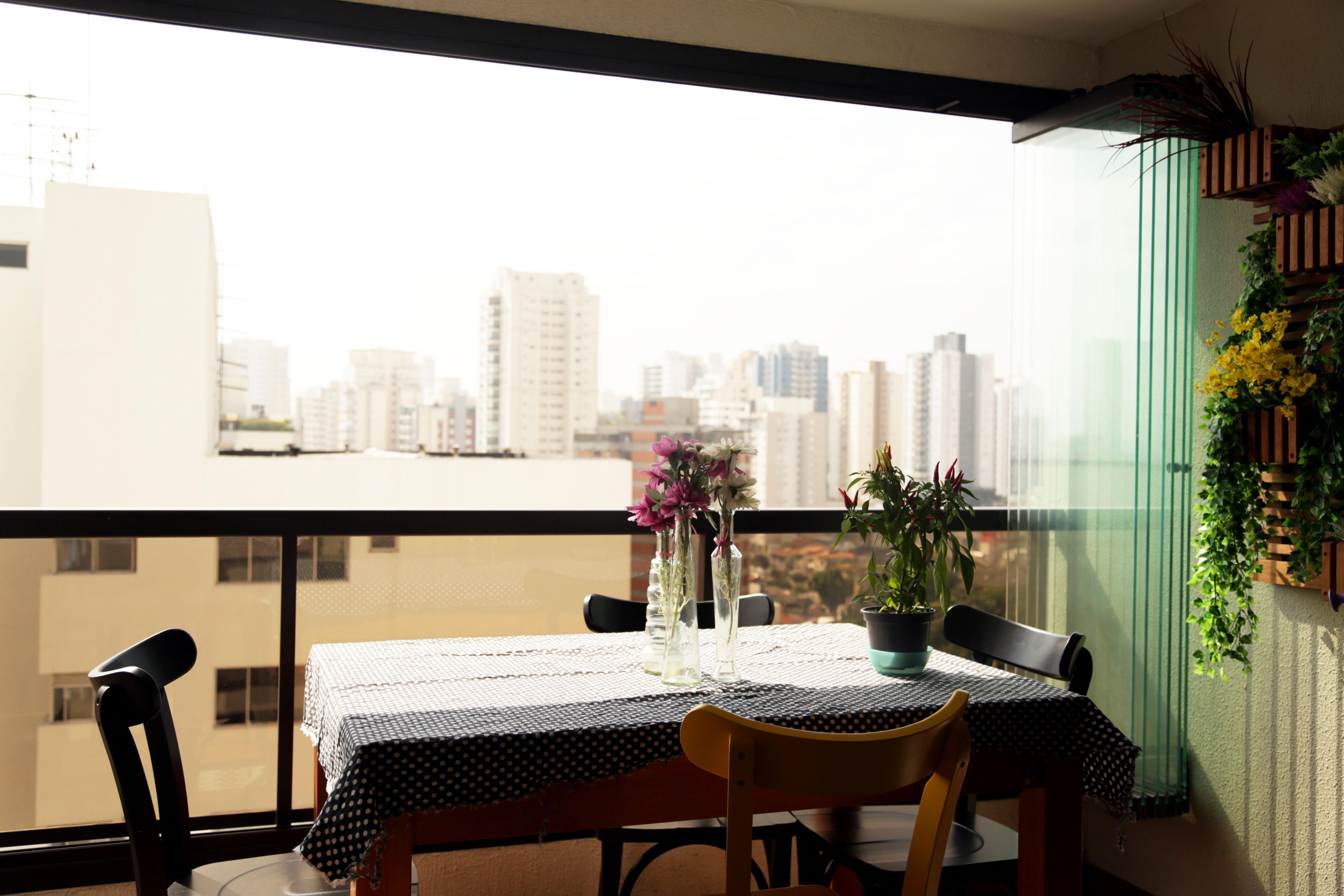 Sala De Jantar Varanda ~ Sala de jantar na varanda!  Dele & Dela