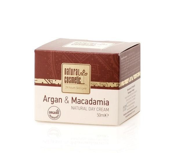 Crema de día con Argán y Macadamia