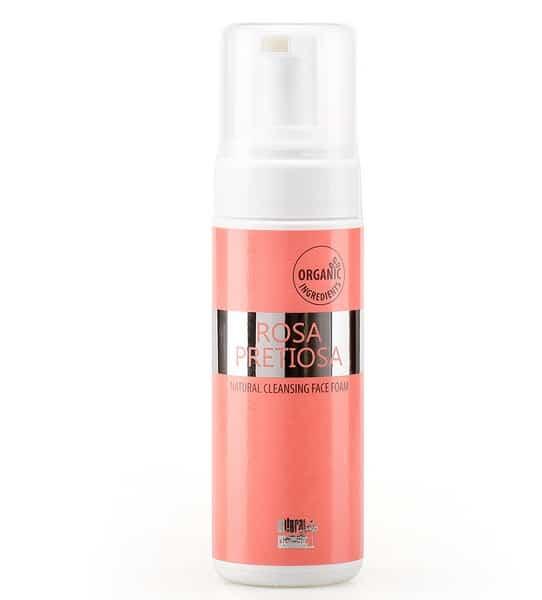 Espuma limpieza facial rosa pretiosa