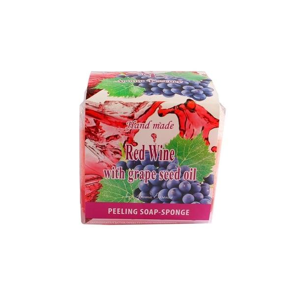 Jabón Peeling Vino tinto y semilla uva