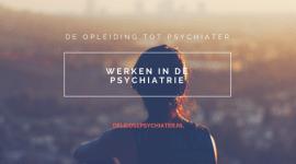 De opleiding tot psychiater    -algemeen-