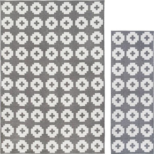 Alfombra de plástico Flower color stone de Brita Sweden