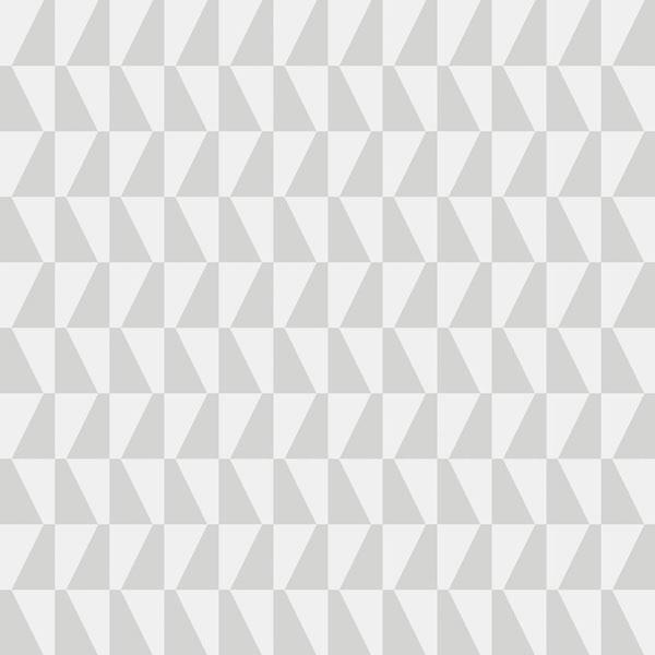Papel pintado Trapez II en color gris de la colección Scandinavian Designers II de Borastapeter