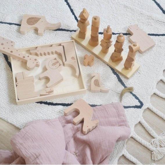 alfombra lavable Bereber beige de Lorena Canals