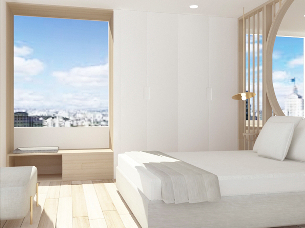 proyecto de diseño de una habitación de hotel