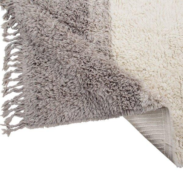 alfombra de lana lavable