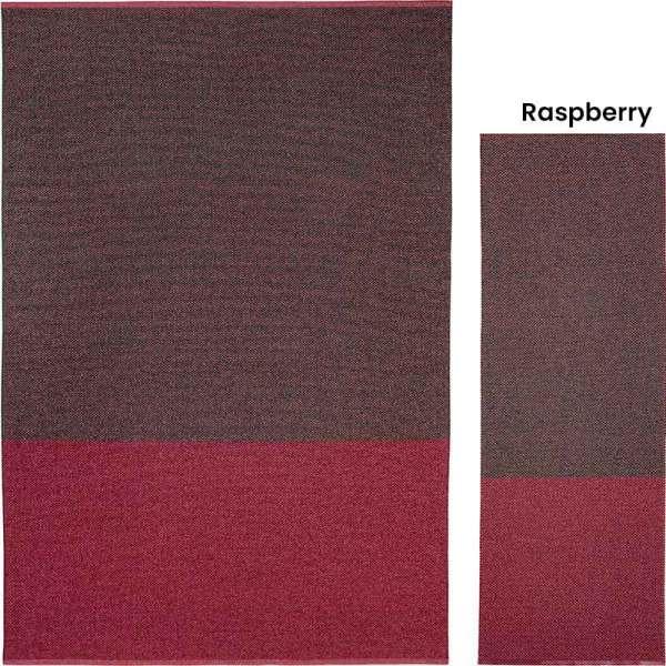 Alfombra de plástico Moor Raspberry de Brita Sweden