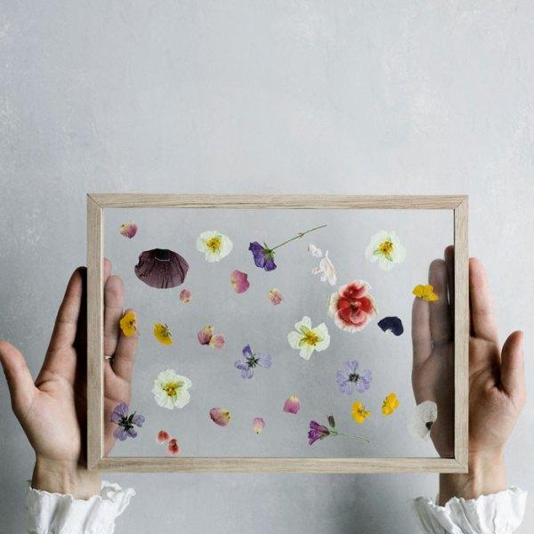Frame marco de roble de Moebe con flores