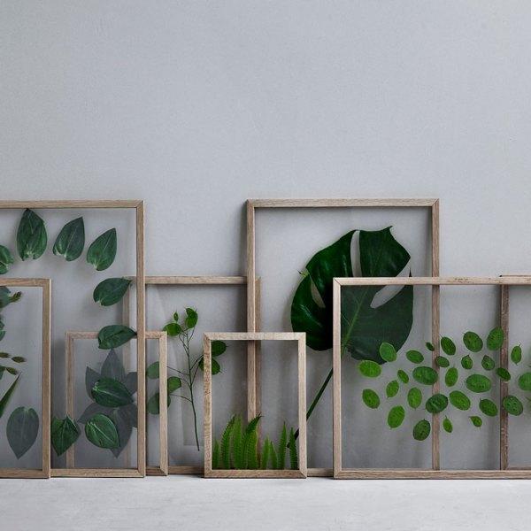 Frame marco de roble de Moebe con hojas